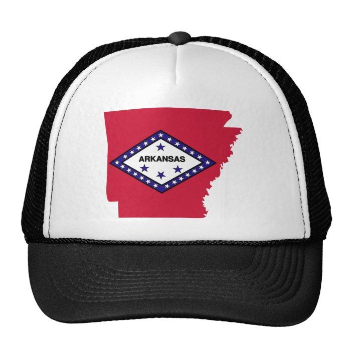 Arkansas Flag Map Trucker Hat