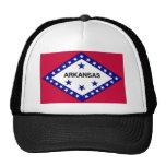 Arkansas Flag Mesh Hats