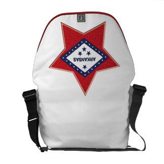 ARKANSAS FLAG MESSENGER BAGS