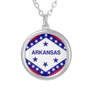 Arkansas Flag Necklaces