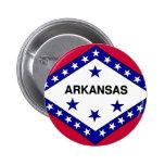 Arkansas Flag Pin