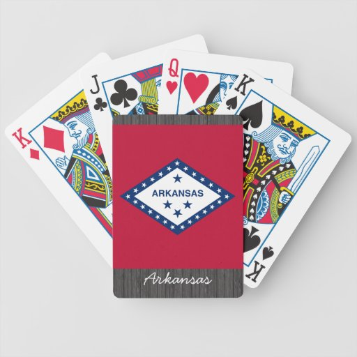 Arkansas Flag Playing Cards