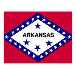 Arkansas Flag Post Cards