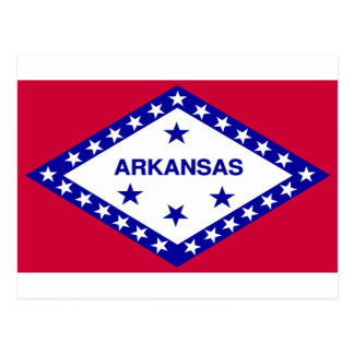 Arkansas Flag Post Card