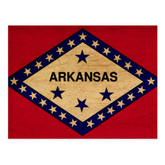 Arkansas Flag Postcard