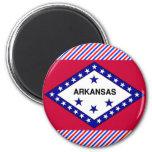 Arkansas Flag Refrigerator Magnet