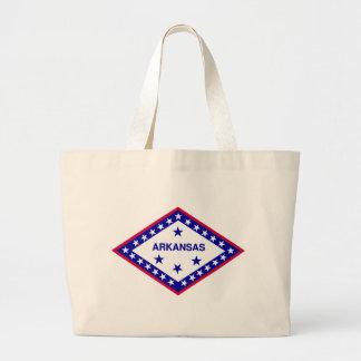 Arkansas Flag Theme 00 Tote Bag