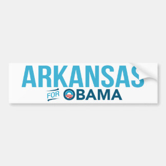 Arkansas For Barack Obama Biden Bumper Sticker
