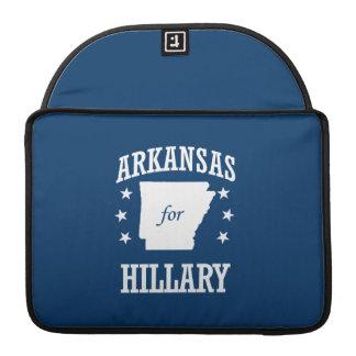 ARKANSAS FOR HILLARY MacBook PRO SLEEVE
