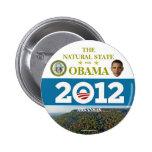 ARKANSAS for Obama 2012 political pinback button