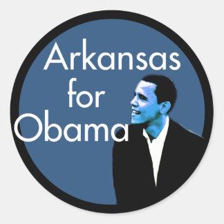Arkansas for Obama Stickers