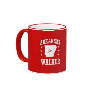 ARKANSAS FOR WALKER RINGER COFFEE MUG