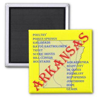 ARKANSAS FRIDGE MAGNET