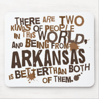 Arkansas (Funny) Gift Mouse Pad