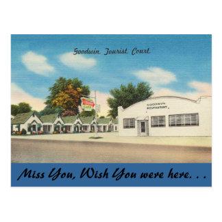 Arkansas, Goodwin Tourist Court Postcard