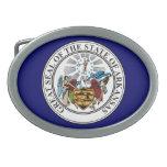 Arkansas Great Seal Belt Buckle