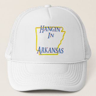Arkansas - Hangin' Trucker Hat
