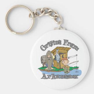 Arkansas Hillbilly Keychain