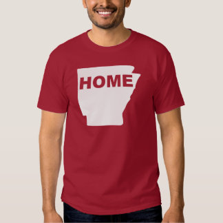 Arkansas Home Away From State T-Shirt Tees
