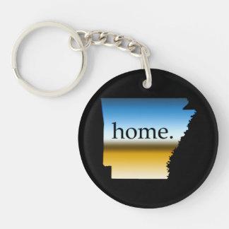 Arkansas Home Horizon Keychain