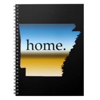 Arkansas Home Horizon Note Book
