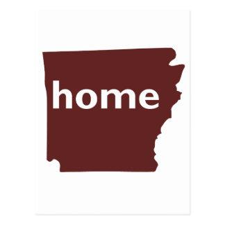 Arkansas Home Postcard