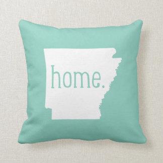 Arkansas Home State Throw Pillow
