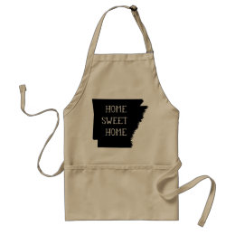 Arkansas Home Sweet Home Adult Apron