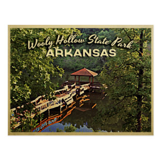 Arkansas hueco lanoso Ozarks Postal