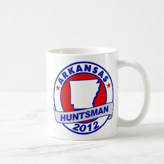 Arkansas Jon Huntsman Classic White Coffee Mug