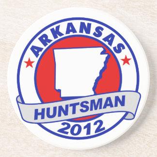 Arkansas Jon Huntsman Drink Coaster