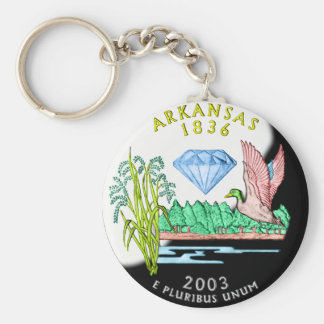 Arkansas Keychain