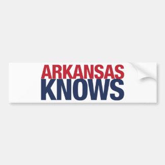 Arkansas Knows Bumper Sticker