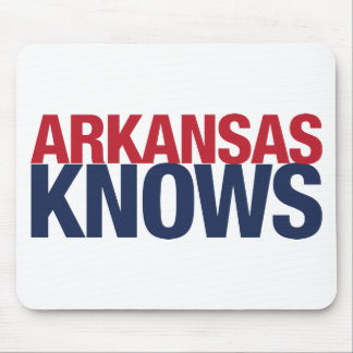 Arkansas Knows Mouse Pad