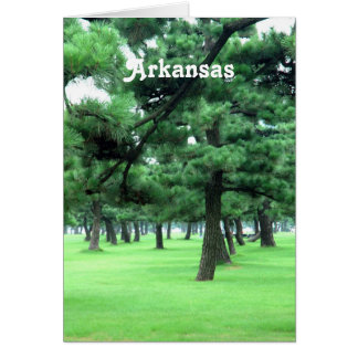Arkansas Landscape Stationery Note Card