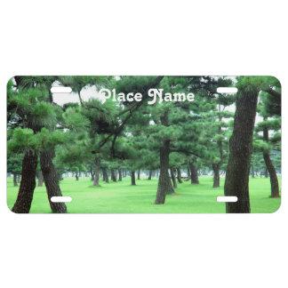 Arkansas Landscape License Plate