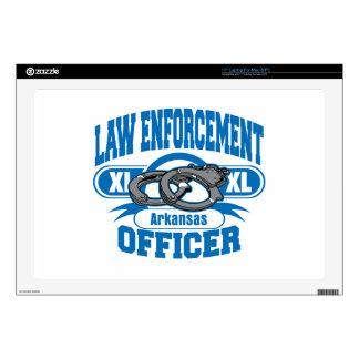 Arkansas Law Enforcement Officer Handcuffs Decal For Laptop