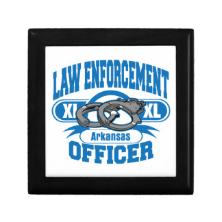 Arkansas Law Enforcement Officer Handcuffs Jewelry Box