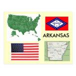 Arkansas, los E.E.U.U. Tarjeta Postal
