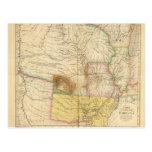 Arkansas los E.E.U.U. Tarjeta Postal