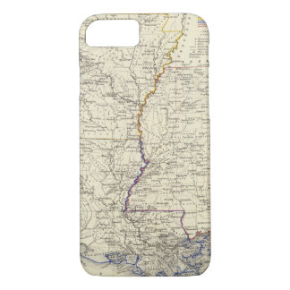 Arkansas, Louisiana and Mississippi iPhone 7 Case