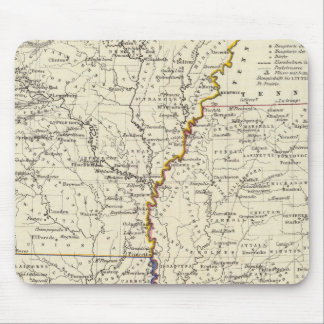 Arkansas, Louisiana and Mississippi Mouse Pad
