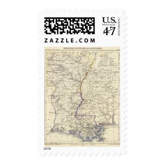 Arkansas, Louisiana and Mississippi Postage
