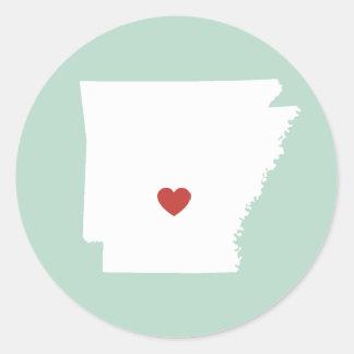 Arkansas Love - Customizable Sticker