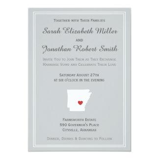 Arkansas Love - Customizable Wedding Invitation