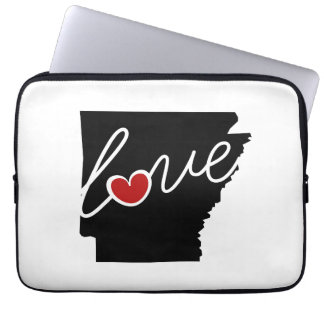 Arkansas Love!  Gifts for AK Lovers Laptop Sleeve