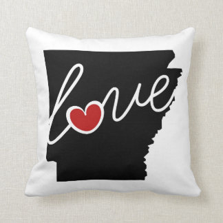 Arkansas Love!  Gifts for AK Lovers Pillows
