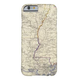 Arkansas, Luisiana y Mississippi Funda Barely There iPhone 6