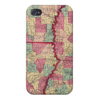 Arkansas, Mississippi, and Louisiana Cover For iPhone 4