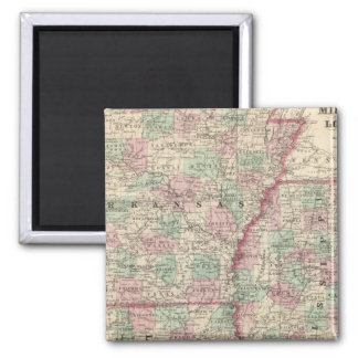 Arkansas, Mississippi, and Louisiana Magnet